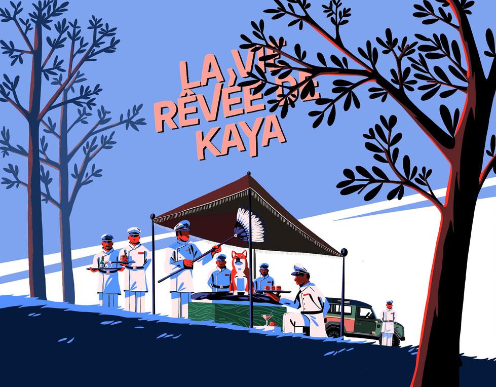 La vie rêvée de Kaya Paul Sirand