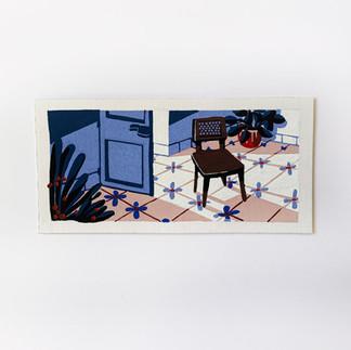 Cuban interior painting paul sirand