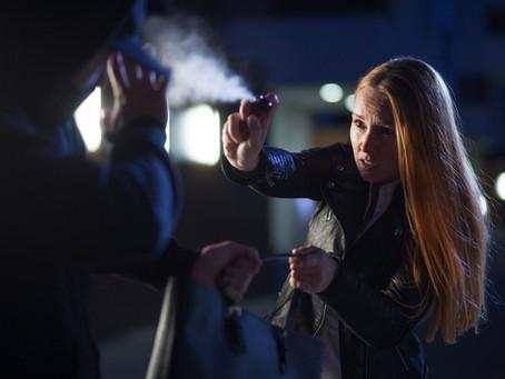 Was Sie vor dem Einsatz eines Pfeffersprays zur Selbstverteidigung unbedingt wissen müssen !