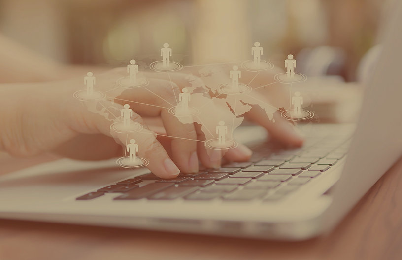 hands-with-laptop-and-virtual-world-map_