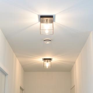 Glass ceiling lights