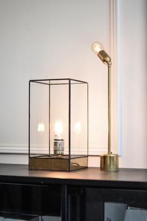 Lou brass lamp