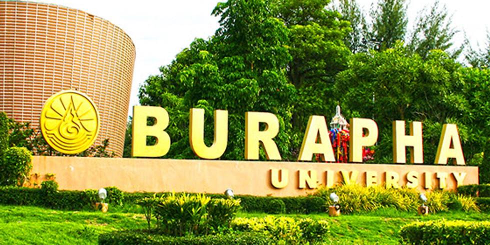 Management meeting.  Burapha University, International College, Chonburi and International College of NIDA, Bangkok