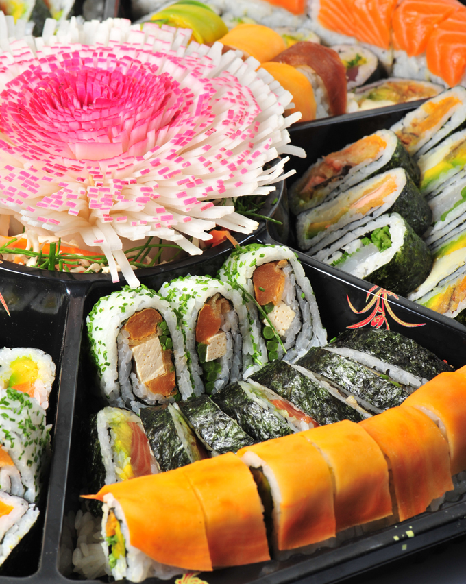 Smíšená Sushi Rolls Tray