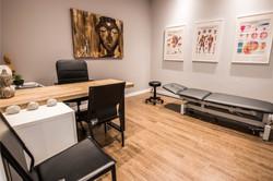 Salle de traitement pour les ostéopathes