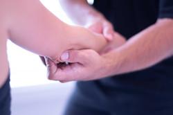 Douleurs au coude et tennis elbow