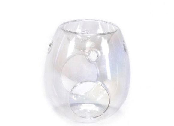 Clear Pearl Glass Burner