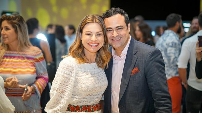 Cecilia Prado e Christiano Marchesini -