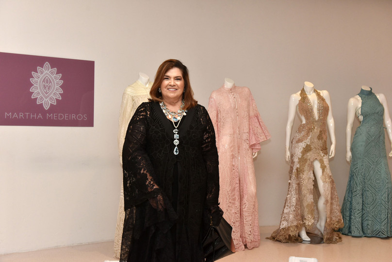 Martha Medeiros assina Fashion Gallery -