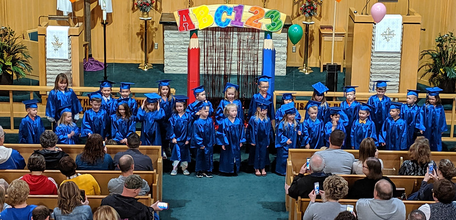 Little Blessings Preschool Graduation at Faith Lutheran Church