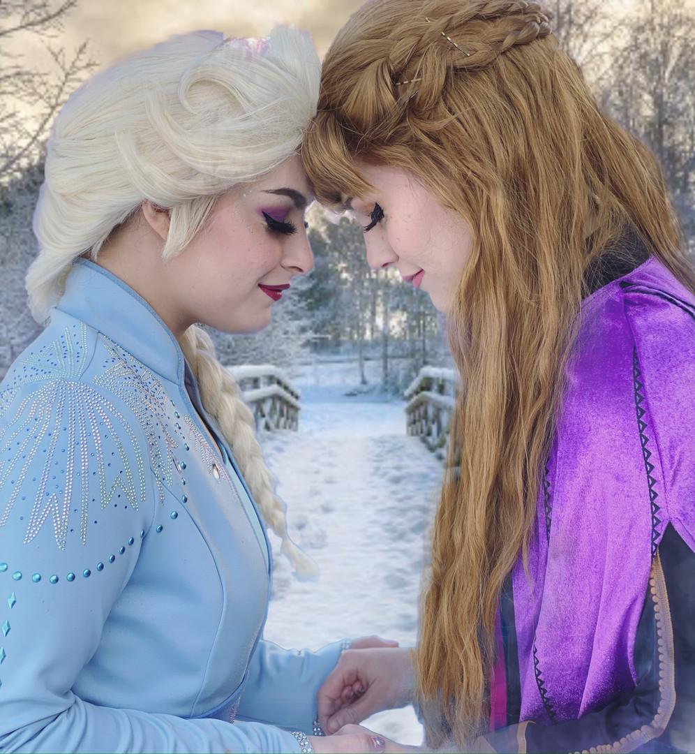 Snow Queen- Frozen 2 Travel