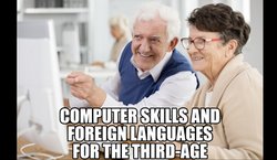 Computer Skills and Foreign Languages for the Third-Age with Alex Cenem