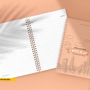 Mockup Caderno de Anotações