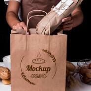 Mockup Sacola de Padaria