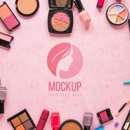 Mockup Recursos de Beleza