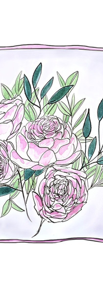 Peony Cushion Cover Concept