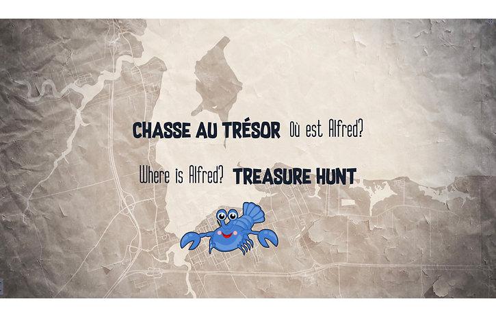 Chasse au trésor Alfred Treasure Hunt