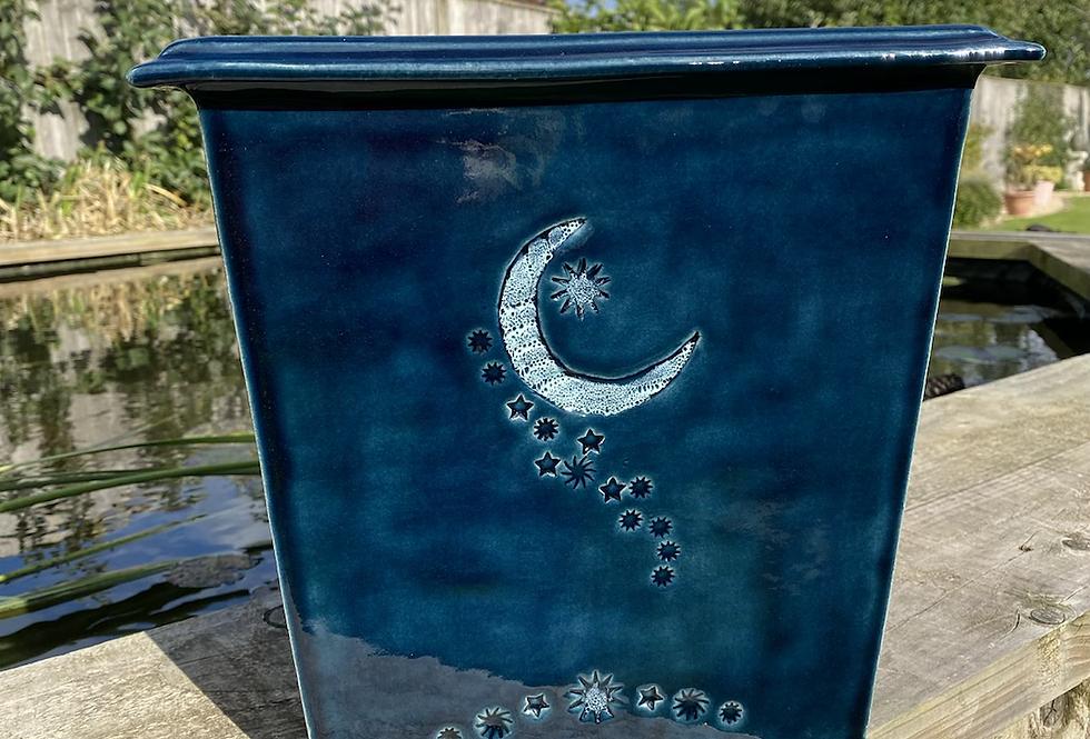 medium Moon and Stars planter