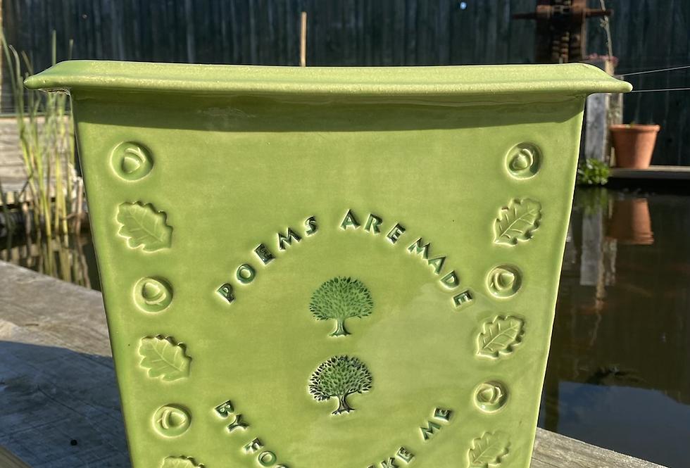 Large green planter