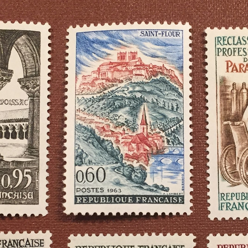 Some Philatelic Aspects of France: Roger Niven