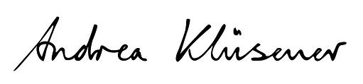 Logo Andrea Klüsener