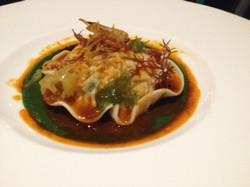 Lobster Raviolo at Blackbird