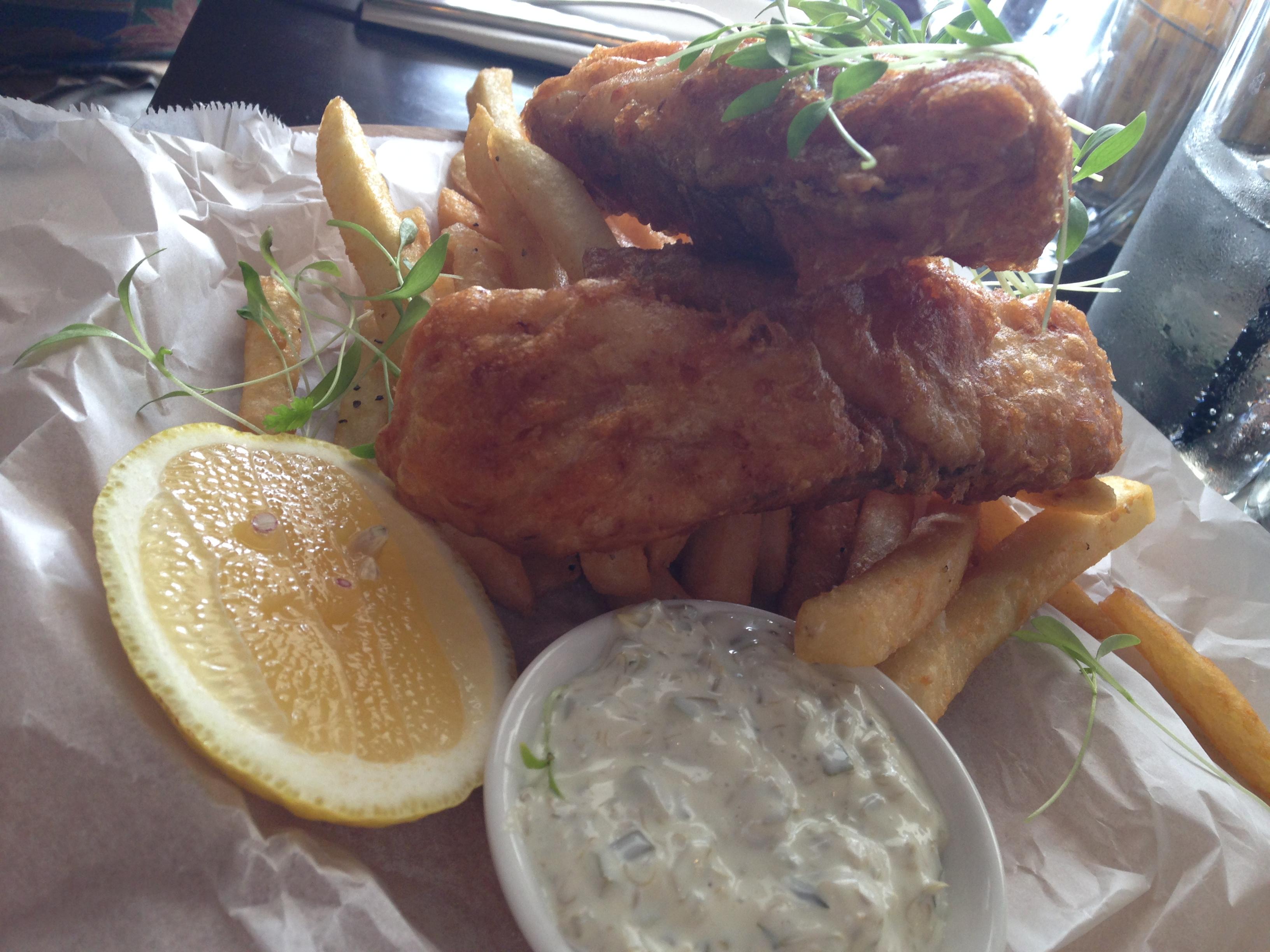 Fish and Chips at Billykart Kitchen