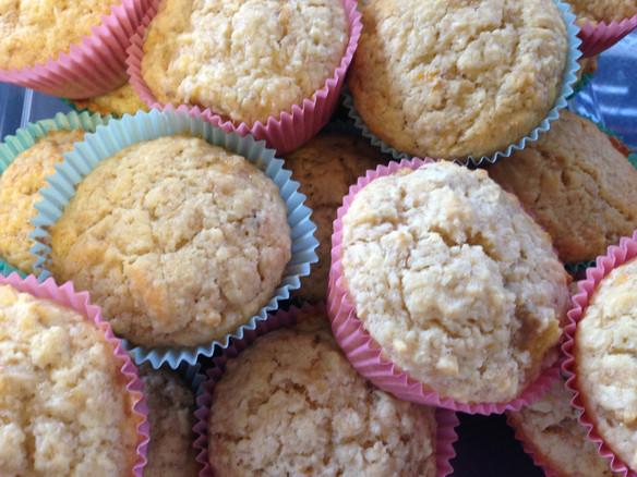Recipe: Accidentally Low-Calorie Banana Coconut Cupcakes