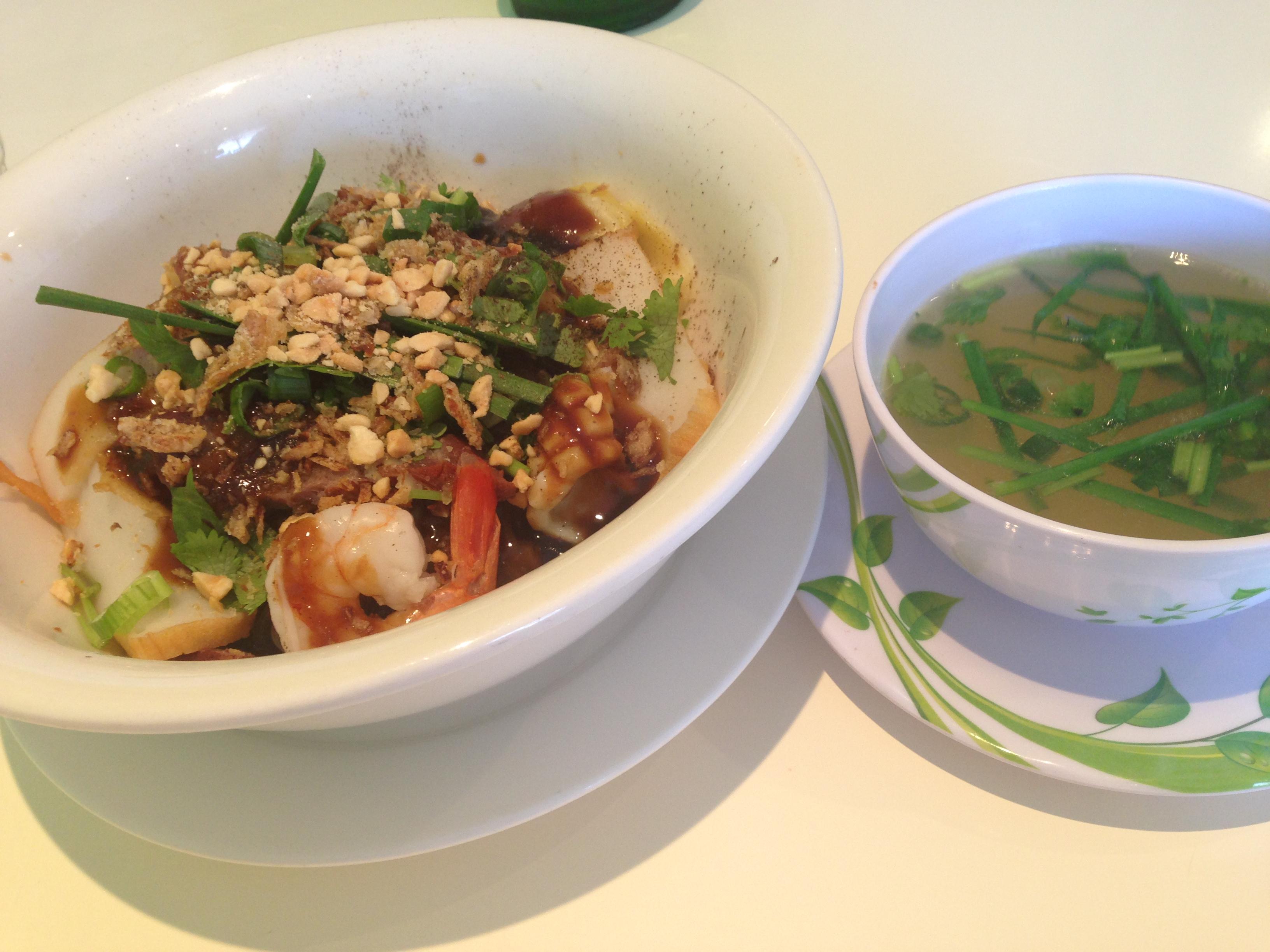 Combination Clear Noodle Soup