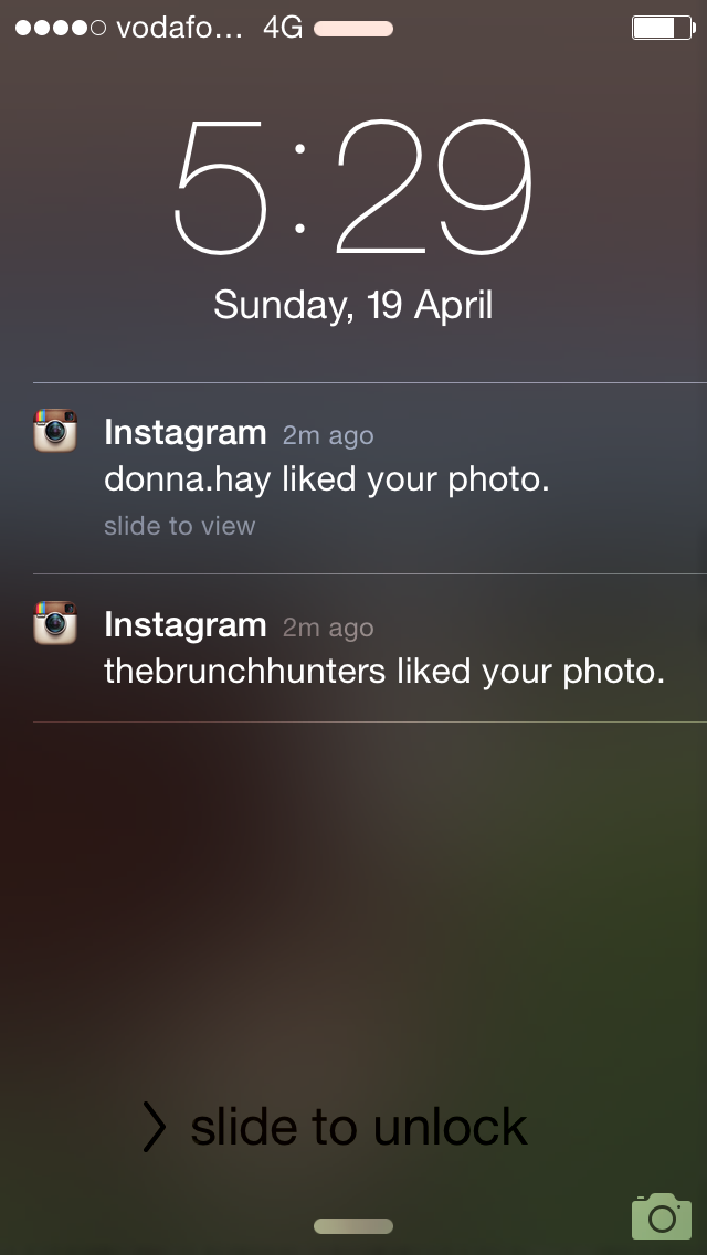 Donna Hay likes Brisbane Foodie's pic on Instagram