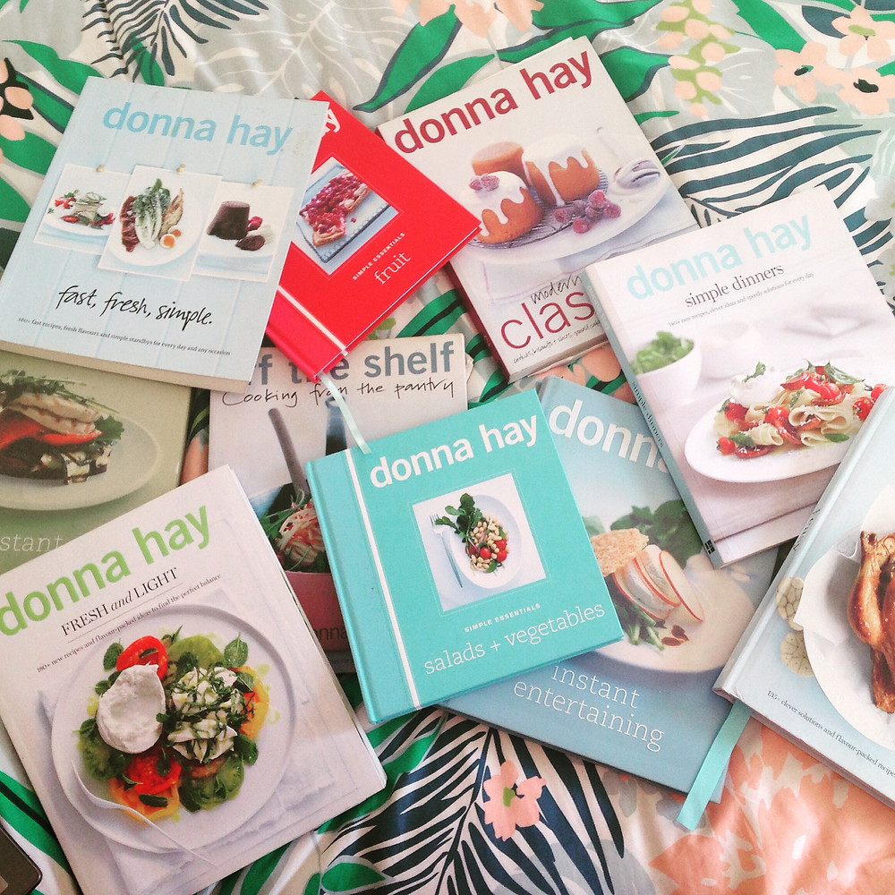 Donna Hay Cookbook collection