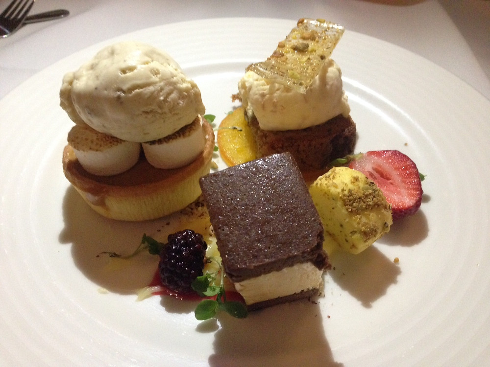 Desserts at Mt Coot-tha