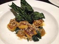 Pumpkin and Pine Nut Gnocchi