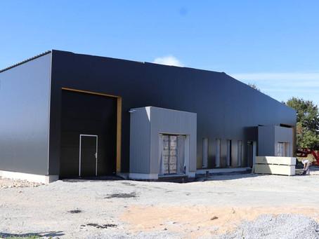 Deux ateliers-relais bientôt en service à Allaire