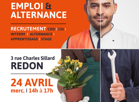 Forum Emploi & Alternance - 24 avril 2019