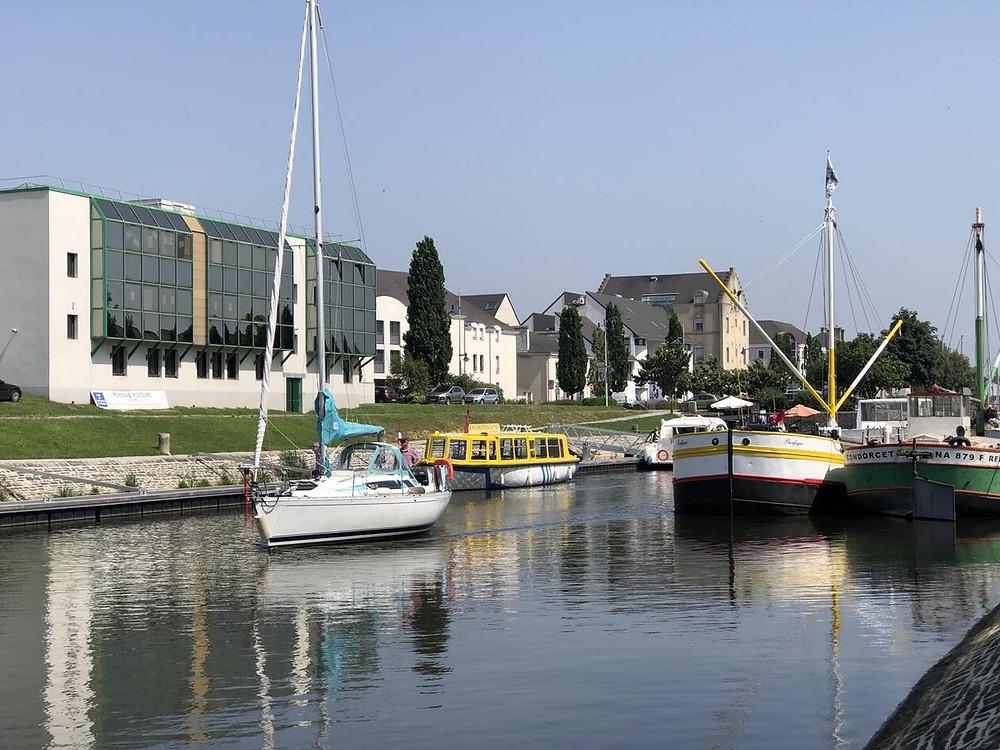 Quartier du port de Redon - Incubateur - Ouest France