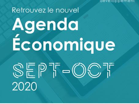 Agenda Économique - Sept/Oct 2020