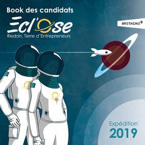 Book de présentations des candidats de l'édition 2019 du concours Ecl'Ose destiné aux entrepreneurs du territoire