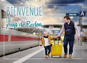 Cartes postales Bienvenue en Pays de Redon