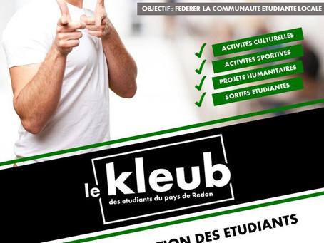 Le Kleub, une association pour dynamiser la vie étudiante locale
