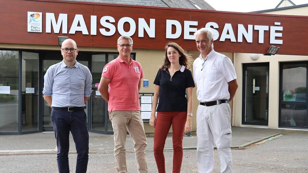 Maison de santé - Pipriac - Ouest France