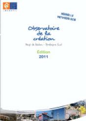 Observatoire de la création - édition 2011