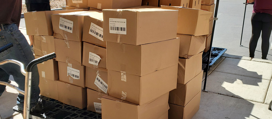 702 Mobile Meals delivering 1,000 boxes to seniors, veterans and Immobile.