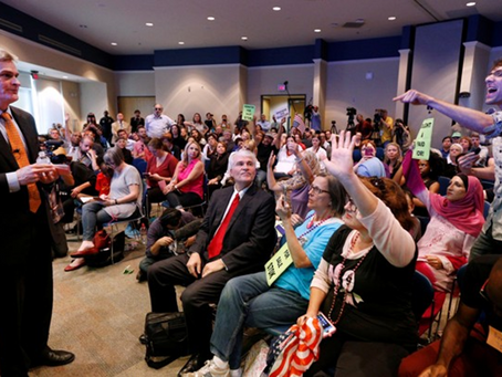 Why town hall meetings are undemocratic