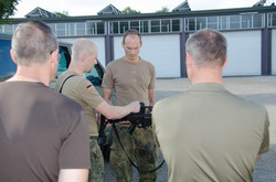 Training with The German Luftwaffe