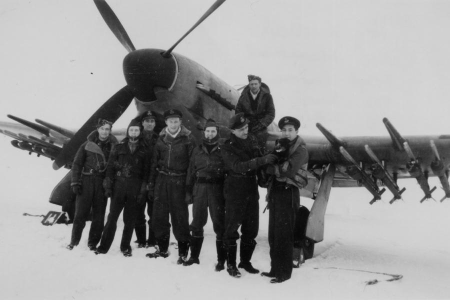 609 Squadron Typhoon