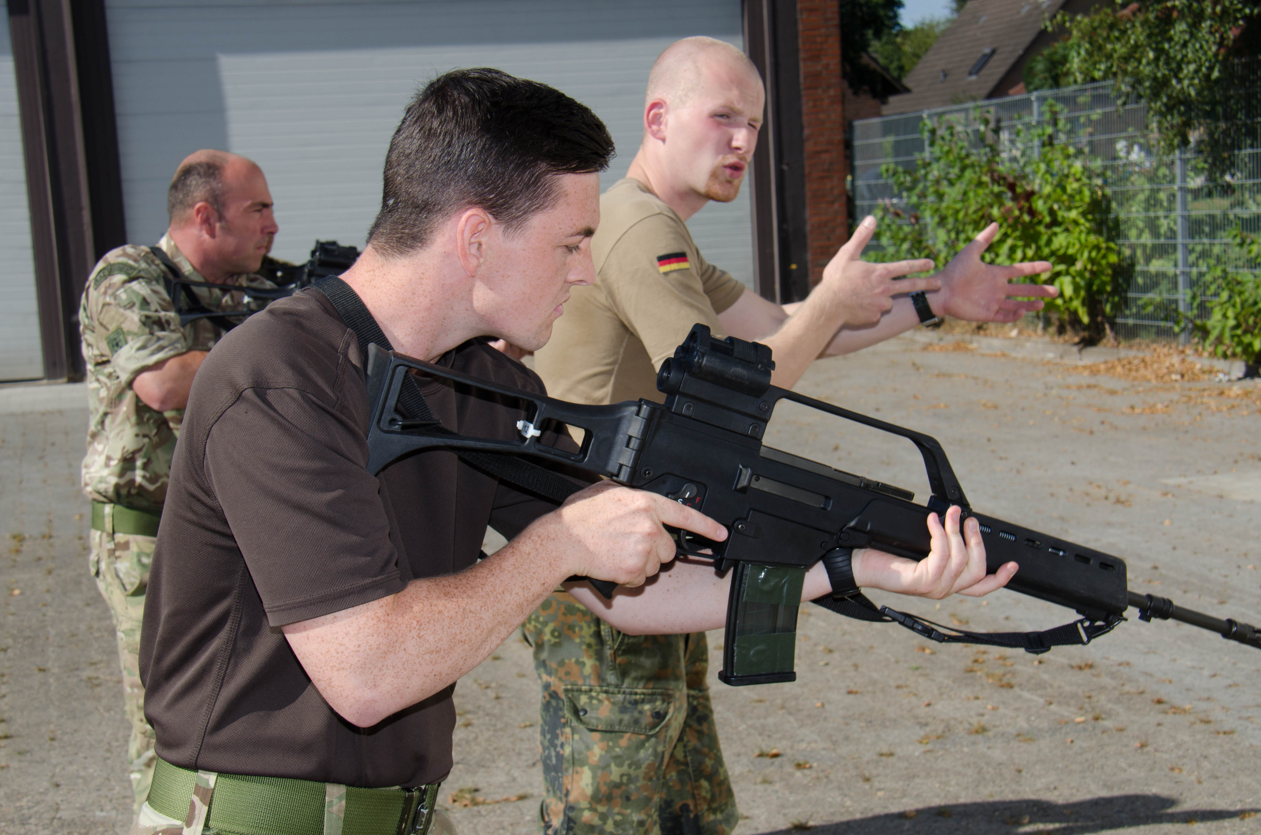 G36 Assault Rifle Training