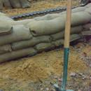 Sandbags and Shovel
