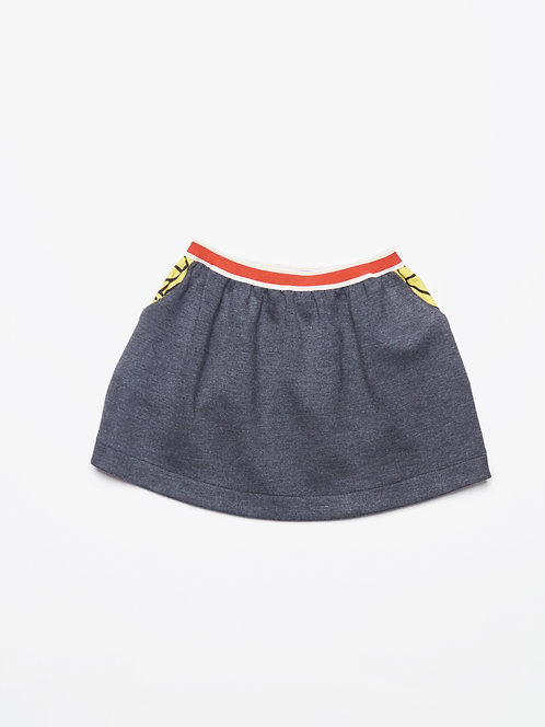 Droity Skirt - Cachemire Reversible