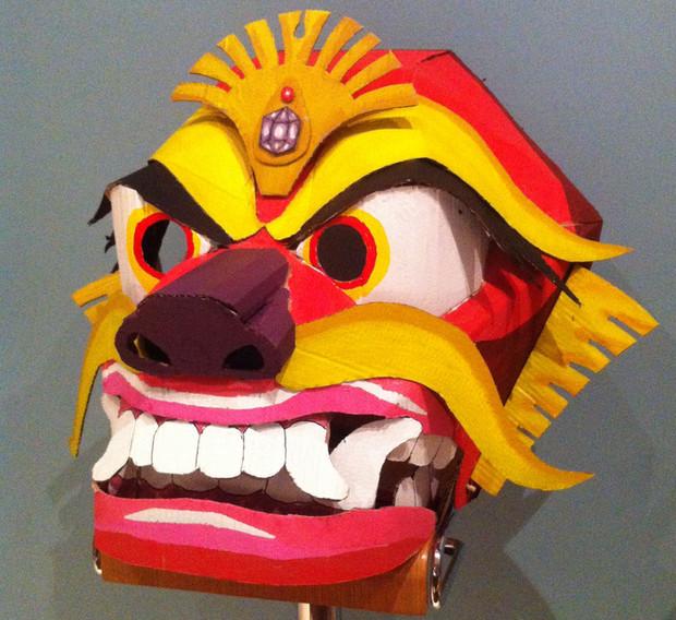 Dragon Mask Commission (2013)